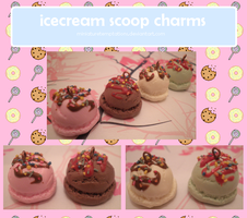 Icecream scoops take 2 by MiniatureTemptations
