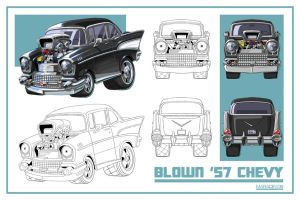 SD '57 Chevy by Nidaram