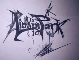Linkin Park Font 2 by dragonfly1991