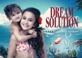 DREAM SOLUTION ACTIONS PHOTOSHOP by MarioZitelloGraphics