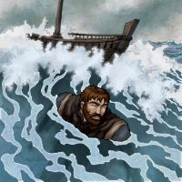 Paul: Shipwreck by eikonik