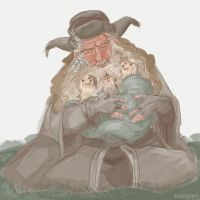 Radagast the Simple by kallielef