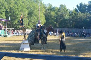 King Richard's Fair, Noble Knight Suiting Up 2 by Miss-Tbones