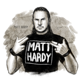 WWE Matt Hardy by baguettepang
