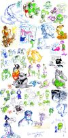 Monsters university sketch dump(2) by MariaRuta