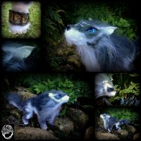 More Dramatic Photos of Wolf Link by SonsationalCreations