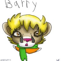 Barry as a mountin lion by Wolvestorms