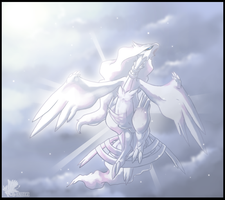 Great Deity Reshiram by Galahawk