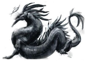 Black Wyrm by CBSorgeArtworks