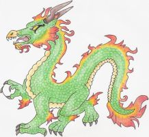 Dragon for howling00greywolf by TigerWithWings