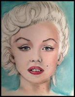 Marilyn in Colour by Talena-caro