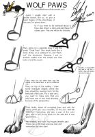 "A ""how to"" on wolf paws... by SongOfTheLoneWolf"
