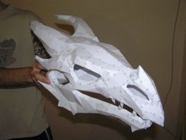 PEPAKURA - Skyrim dragon skull 2 by distressfasirt