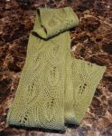 Knitted Scarf - Daphne by Mscheveous