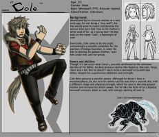 Cole - Pupil Character Sheet by HenLP