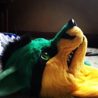 Fursuit Toxic by Furrypaws260