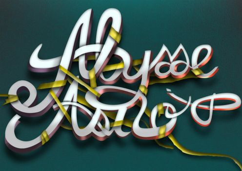 my own typography by kuting16