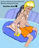 NaruHina Toob Ride 1 - Colored by Rossi-chan