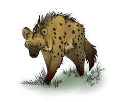 10. Hyena - Colored by Marcynuk