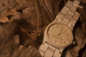 wooden watch acer by uhaehuehehe