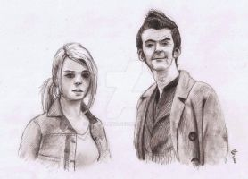 Doctor and Rose (traditional version) by superlaky
