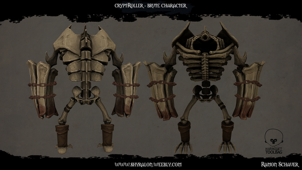 CryptRoller - Brute Character by Shyralon