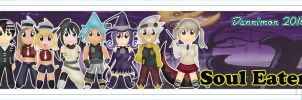Chibi Soul Eater Bookmarks by DannimonDesigns