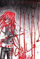 Bathed in Blood. by Little-Tanoshii-Gaki