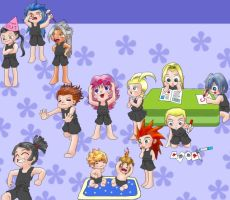 organization XIII daycare by buchiman