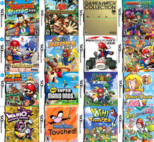 Mario's Nintendo DS Games by sonictoast