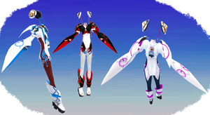 MMD NJXA PSO2 Matoi Outfit by MMD3DCGParts