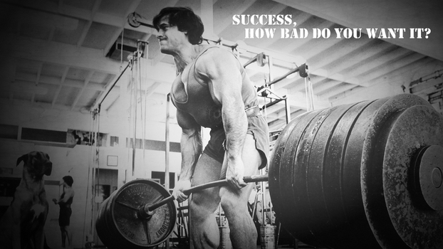 Success, how bad do you want it? by T1A60
