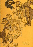 Sketch Book Cover 2oo5 by Arcenic