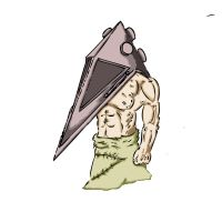 Pyramid Head, Color by SoulReaver9000