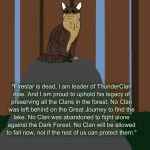'Uphold his legacy...' *30 Warrior Cats challenge* by BlizzardHaze