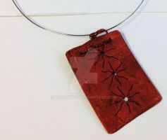 Copper necklace by m0onwitch