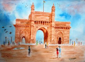 Gateway of India by DiptiArt