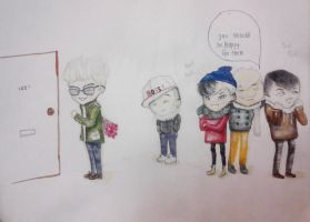 A Super Adorable BIGBANG gift for me by topistops