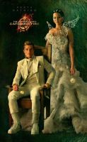 Catching Fire - Peeta and Katniss by echosong001