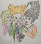 Sanderson Sisters by MeltyMoon