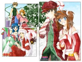 Anime Christmas 2k4 by pnayshoujo69