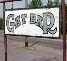 Gay Bar Sign by mmad-sscientist