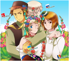 APH: Admirers of Ukraine by Kay-I