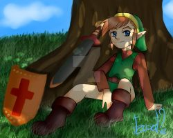 the legend of zelda, NES by ItzcoatlCaro