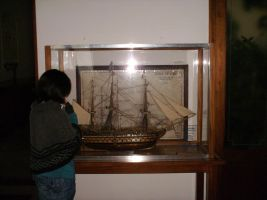 a model of galleon by Seadre
