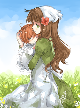 APH Chibitalia and Hungary by arielucia