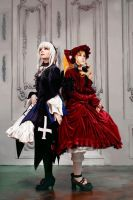 Shinku and Suigintou by KikoLondon