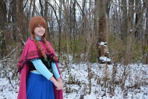 anna cosplay frozen by Iris-Iridescence
