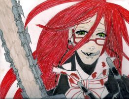 First Grelle Fan Art by Sadict