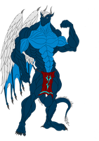 Alex. Eko Draconian Body Without Tattoos by Exxylo
